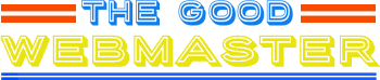 The good webmaster website logo